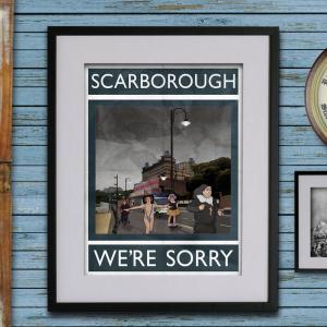 Rubbish Seaside Etsy scarborough