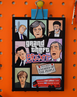 gta brexit postcard