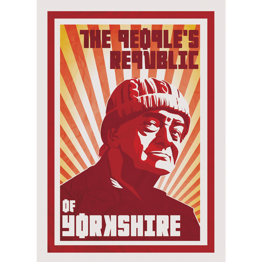 peoples republic of yorkshire compo postcard