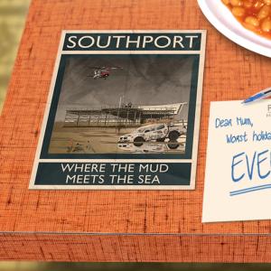 postcard mockup southport