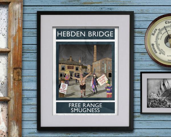 Rubbish Seaside Hebden Bridge Free Range Smugness